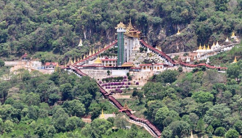 Shwe-u-min-Pagode-de-Pindaya-grotten