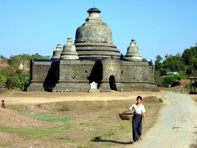 Le-myet-hna Tempel, Mrauk U