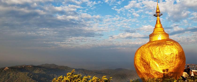 Golden Rock Birma