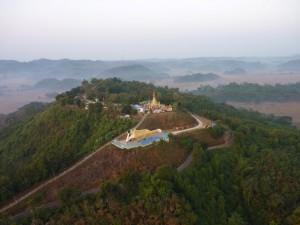 Boeddha heuveltop