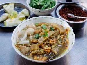 Mohinga,vis noodle soep